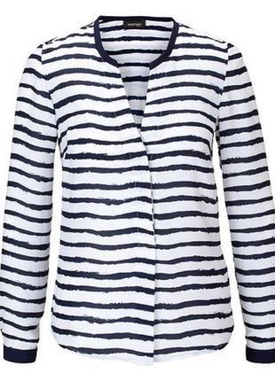 Стоп! распродажа! свободная блузка в полоску от tchibo, германия