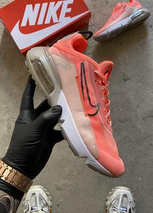 Женские кроссовки nike air max 2090 orange, кроссовки найк аир макс 2090 оранжевые на балоне