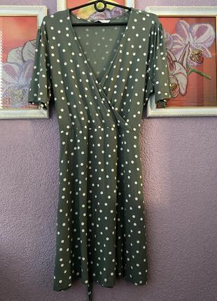Платье в горошек only