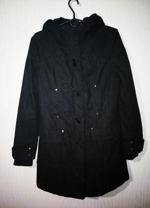 Стильное теплое пальто(дафлкот)
