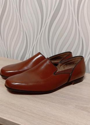 Church's кожаные туфли ручной работы англия