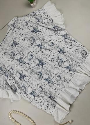 Блуза рубашка льняная красивая модная итальянская