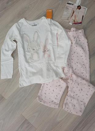 Пижама с флисовыми штанами pepperts 122/128 см