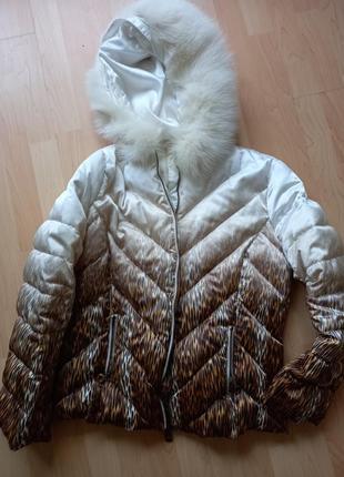 Куртка зимня angelo marani италия