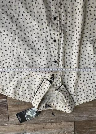 Рубашка блуза mango3 фото