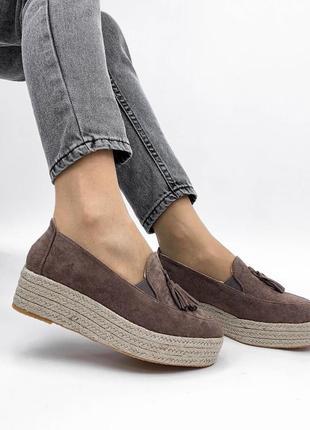 Туфли капучино