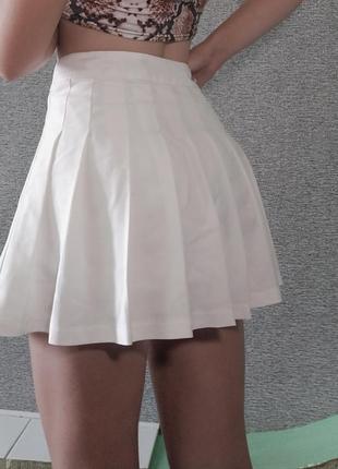 Теннисная юбка / юбка в складку