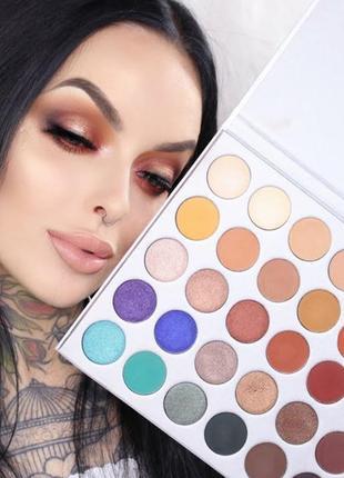 🎨🤗идеальная палетка теней для век beauty glazed impressed you powder eyeshadow palette (35 color)2 фото