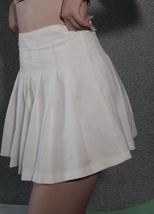 Теннисная юбка / юбка в складку2 фото