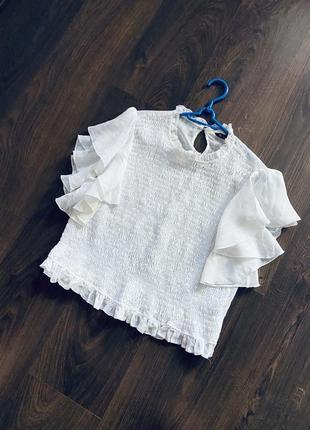 Блузка натуральная ткань zara2 фото