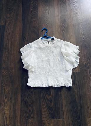 Блузка натуральная ткань zara3 фото