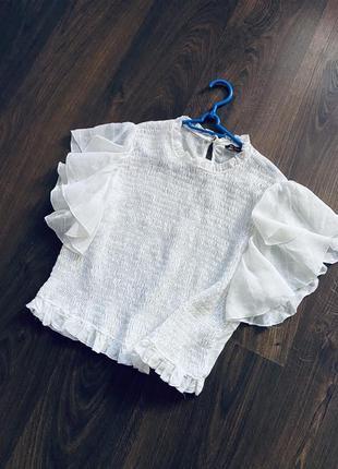 Блузка натуральная ткань zara4 фото
