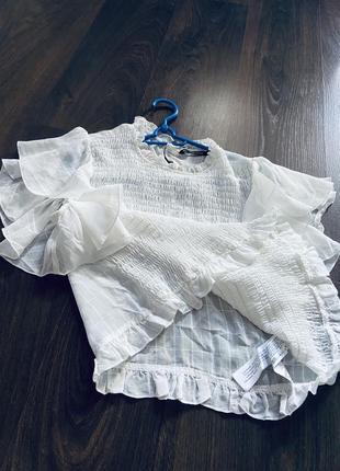 Блузка натуральная ткань zara5 фото