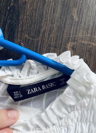 Блузка натуральная ткань zara7 фото
