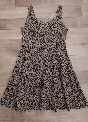 Платье летнее, платье леопард от topshop!