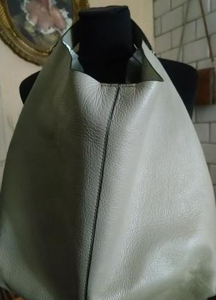 Rebecca minkoff стильная сумка ,натуральная кожа