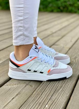 Женские кроссовки adidas drop step 'white grey'