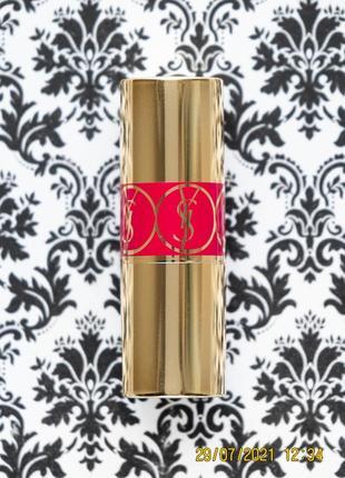 Помада бальзам yves saint laurent rouge volupte shine ysl lipstick 04 rouge ballet balm
