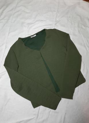 Кардиган накидка куртка хаки кофта
