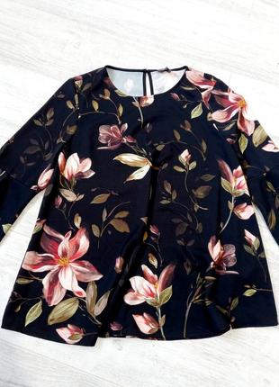 Блузка цветочный принт phase eight