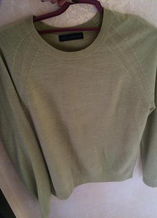 Салатовая  зелёная кофта свитер  marks&spencer