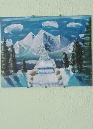 """Картина """"хрустальная лестница"""""""