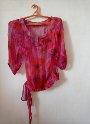 Женственная блузочка  из натурального шелка