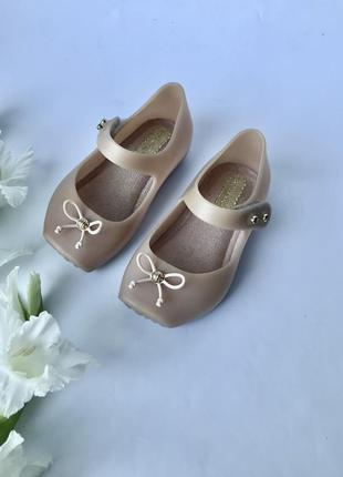 Босоножки mini melissa туфли сандали