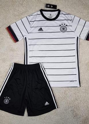 Детская футбольная форма сборной германии, (основная), евро 2020