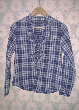 Женская блуза рубашка в клетку от polo ralph lauren