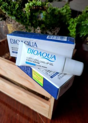Увлажняющий гель для губ bioaqua с экстрактом оливки и мяты 10 g