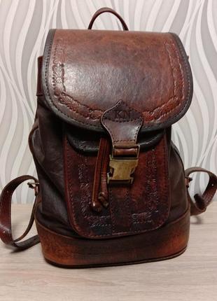 Добротный брутальный рюкзак бренд beara beara англия