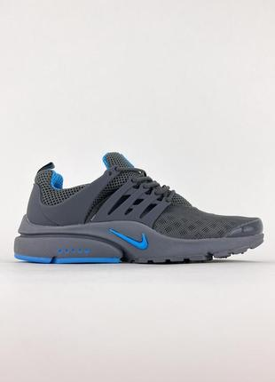 Кроссовки nike air presto pk grey blue