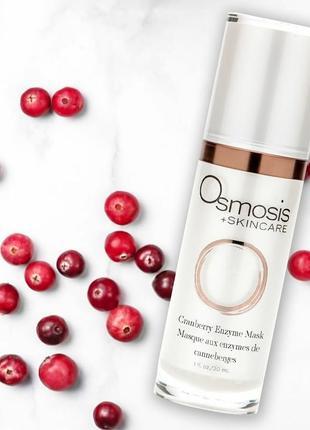 Клюквенная ферментная маска osmosis