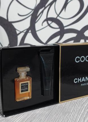 Винтажны парфюмерный набор coco chanel