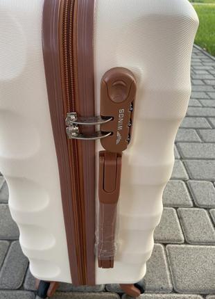 Акция !!!!отличное качество,wings,польский бренд,все размеры ,дорожная сумка,сумка на колёсах ,валіза8 фото