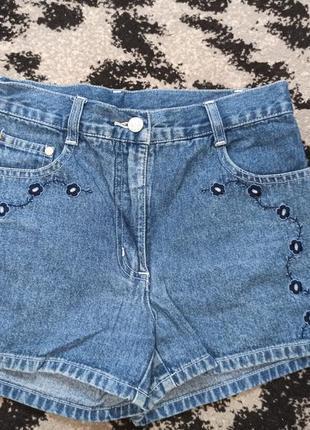 Класні джинсові шорти на дівчинку 152см, 65 грн. розпродаж
