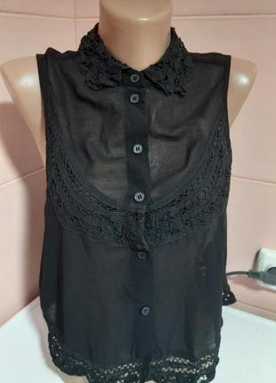 Модная блузочка на пуговках