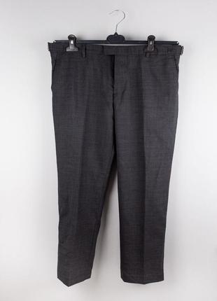 Темно-серые демисезонные брюки august mcgregor