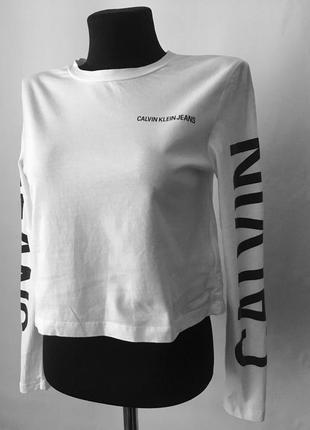Топ футболка с длинным рукавом calvin klein оригинал