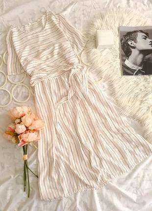 🖤 легкое платье в полоску