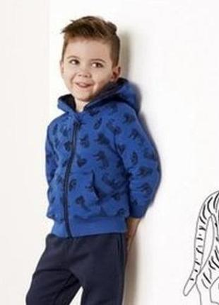 Толстовка на меху, куртка, кофта на молнии lupilu 86/92, 98/104, 110/116 см1 фото