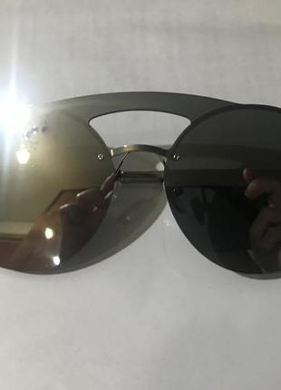 Новые круглые очки серебро 60 грн.
