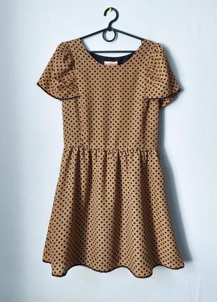 Платье в горошек от traka barraka