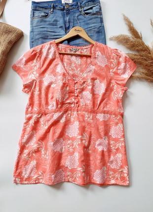 Воздушная натуральная рубашка m&co