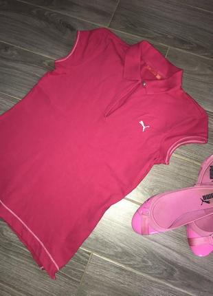 Оригинальная футболка поло puma