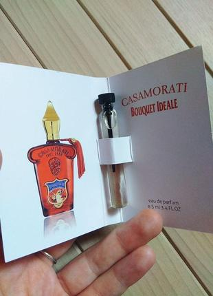 Духи парфюм пробник casamorati bouquet ideale от xerjoff ☕ объём 5мл