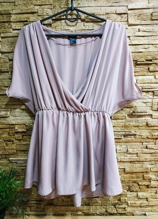 Шикарная шелковая блузка