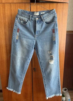 Красивенные джинсы мом