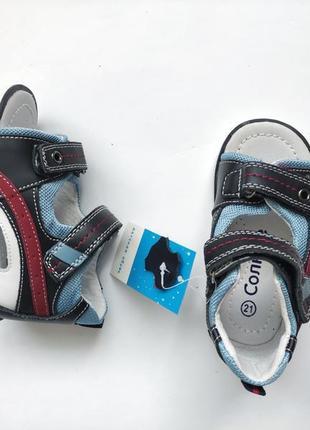 Босоніжки шкіряні шкіра натуральна ортопед ортопедичні сандалі босоножки сандалии сандали